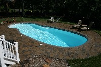 Oasis Fiberglass Pool in Broomes Island, MD