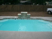 Vegas Fiberglass Pool in Alvo, NE